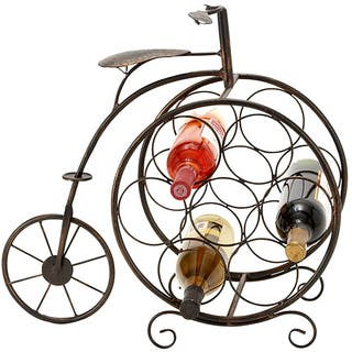 Casa Cortes 7-bottle Artisan Tricycle Wine Rack|https://ak1.ostkcdn.com/images/products/6539927/P14122041.jpg?impolicy=medium