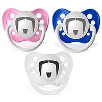 Personalized Pacifiers The Fu Manchu Mustache Pacifier