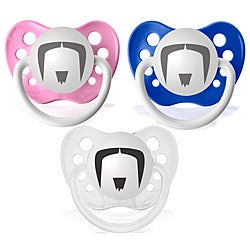 Personalized Pacifiers The Fu Manchu Mustache Pacifier