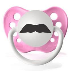 Personalized Pacifiers The Chevron Mustache Pacifier