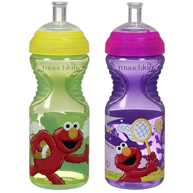 Munchkin Sesame Street 10-ounce Sports Bottle