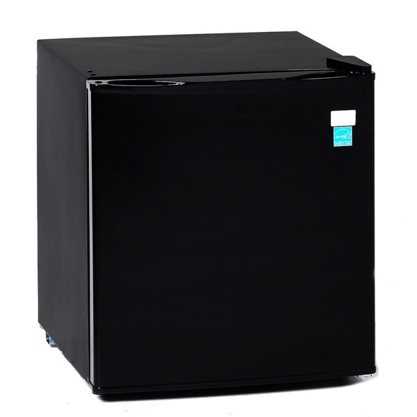 Avanti 1.7 Cubic Foot Black Refrigerator