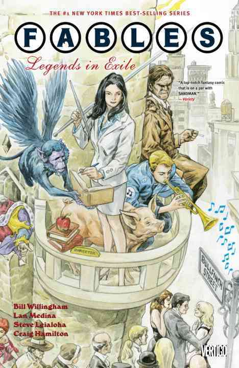 Fables 1: Legends in Exile (Paperback)