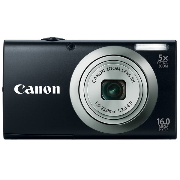 Canon Powershot A2300IS 16MP Black Digital Camera