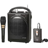 PylePro Rechargeable Portable PA System with Wireless Lavalier/Headse