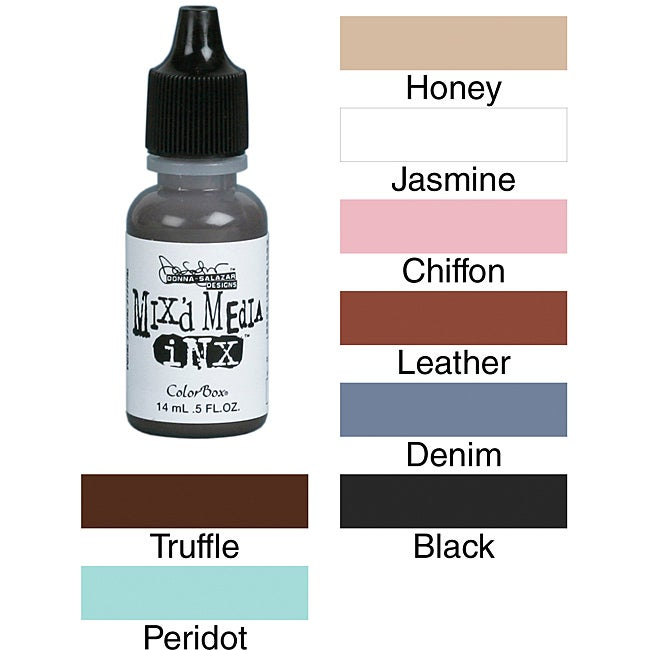 Donna Salazar Colorbox Mixed Media Ink Refill