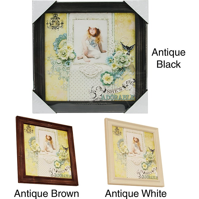 Prima Flowers Wood Frame (12 x 12)