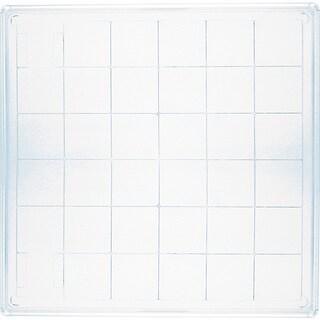 Inkadinkado 6-inch Square Large Acrylic Block