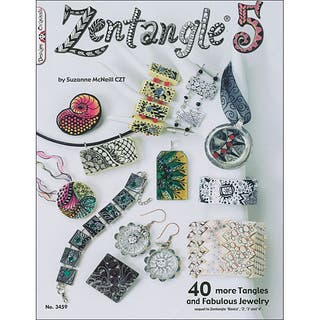 Design Originals 19-page Softcovered Zentangle 5 by Suzanne McNeill|https://ak1.ostkcdn.com/images/products/6541405/P14123224.jpg?impolicy=medium