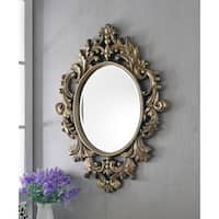 Athena Gold 38-inch Wall Mirror