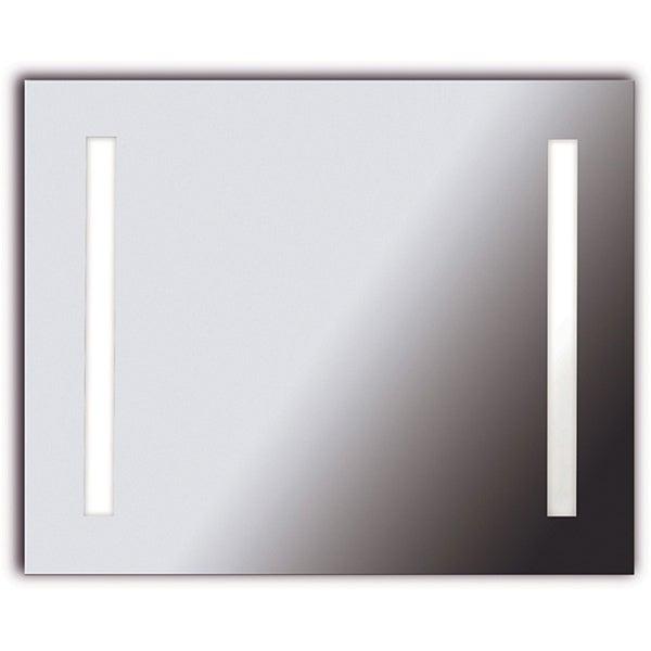 Horus 2-light LG Silver Vanity Mirror