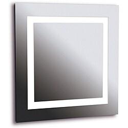 Horus 4-light LG Silver Vanity Mirror - Thumbnail 0