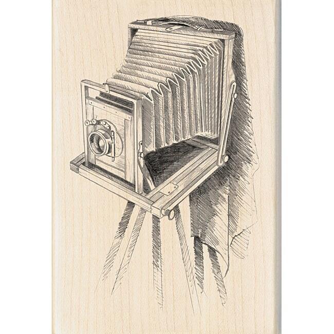 Inkadinkado 'Vintage Camera' Mounted Rubber Stamp