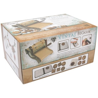 sizzix bigkick machine vintaj spec edition