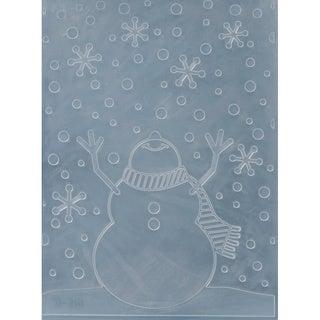 Darice 'Snowman' Plastic Embossing Folder