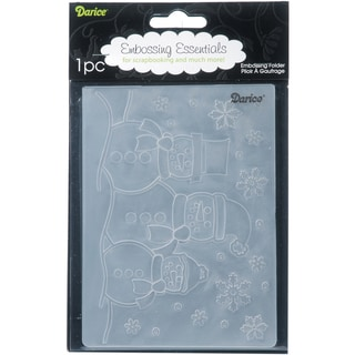 Darice 'Snowman' Embossing Folder