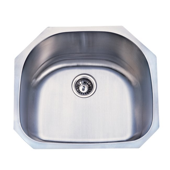 Stainless Steel 23-inch Undermount Kitchen Sink - Thumbnail 0