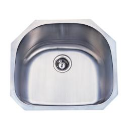 Stainless Steel 23-inch Undermount Kitchen Sink