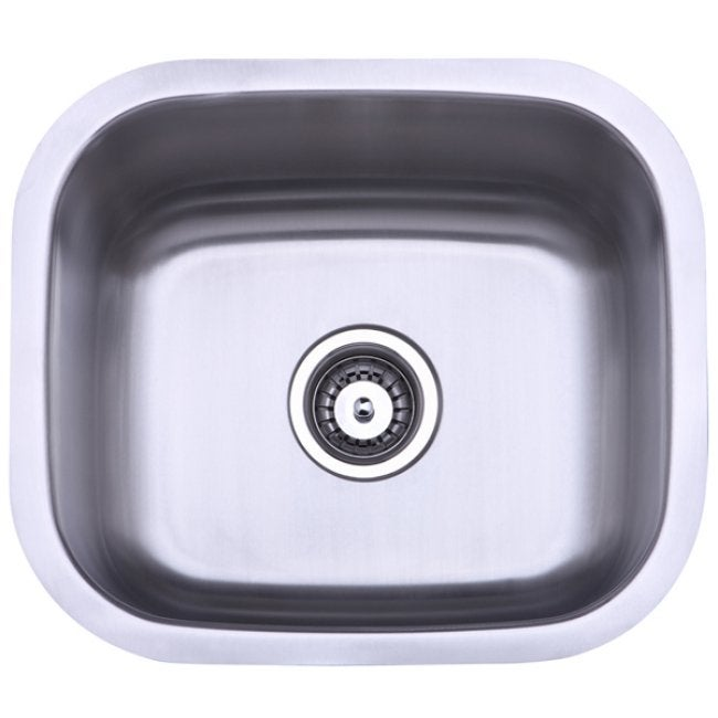 Stainless Steel 18-inch Undermount Kitchen Sink - Thumbnail 0