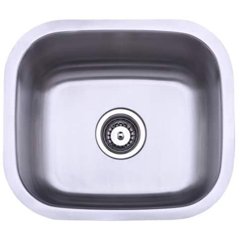 Stainless Steel 18-inch Undermount Kitchen Sink