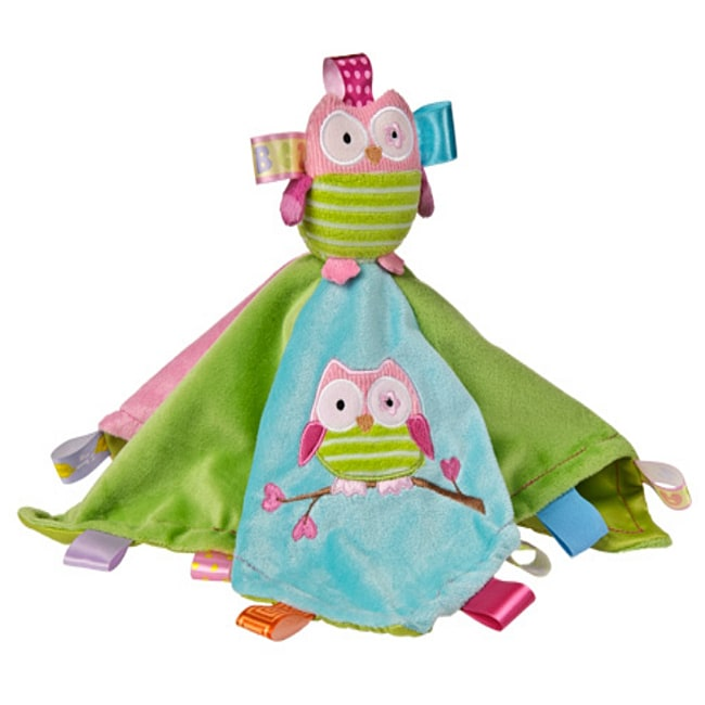 Mary Meyer Oodles Owl Character Tag Blanket (Baby blanket...