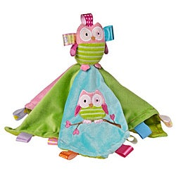 Mary Meyer Oodles Owl Character Tag Blanket