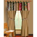 Greenland Home Fashions Antique Chic Window Panel Pair