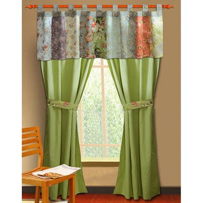 Greenland Home Fashions Blooming Prairie Valance