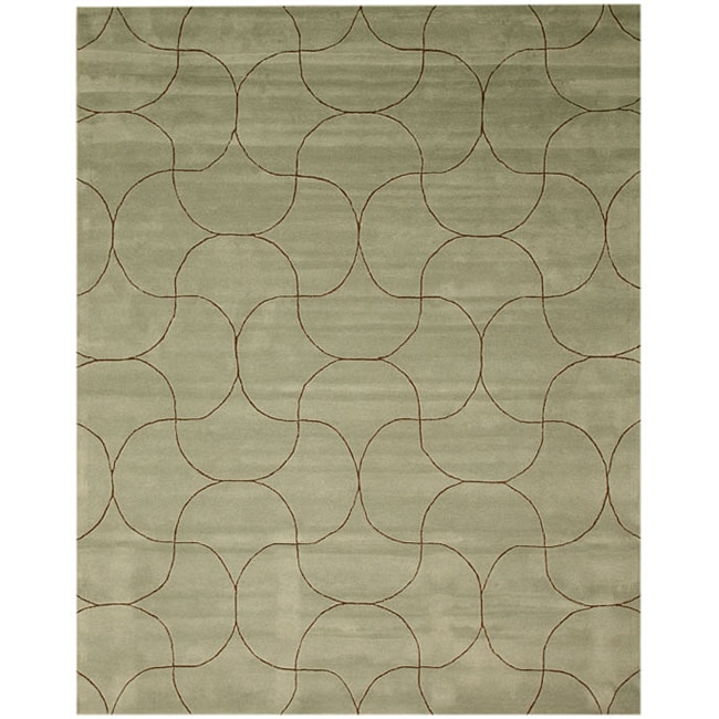 Hand Tufted Santana Abstract Wool Rug (4' x 6')