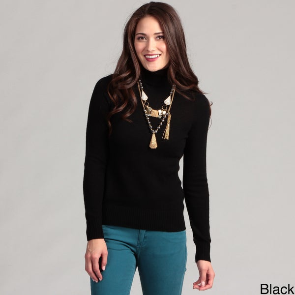 Cullen Women's Cashmere Turtleneck Sweater