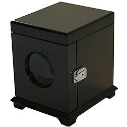 Rocket Black Carbon Fiber Single Watch Winder