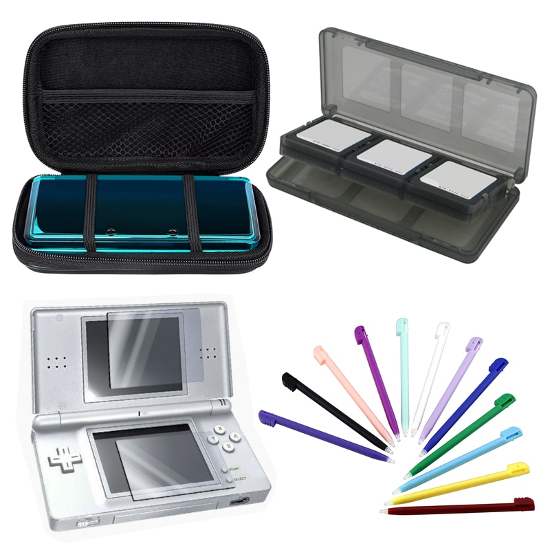 Insten Lite Eva Case/ Screen Protector/ Stylus for Nintendo DS Lite