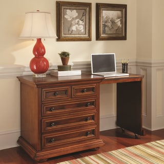 Homestead Warm Oak Expand-a-Desk