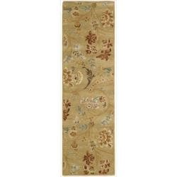 Nourison Hand-tufted Firenze Gold Rug ( 2'3 x 8' )