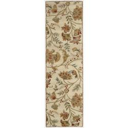 Nourison Hand-tufted Firenze Ivory Rug (2'3 x 8')