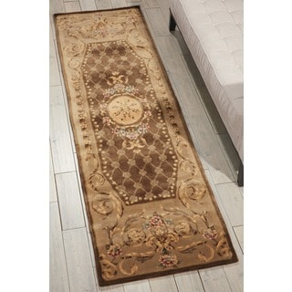 Nourison Hand Tufted Chateau Provence Beige Rug (2'3 x 8')