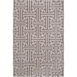 Hand-woven Alfex Wool Rug (3'6 x 5'6)