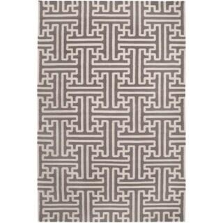 "Hand-woven Alfex Wool Area Rug - 3'6"" x 5'6"""