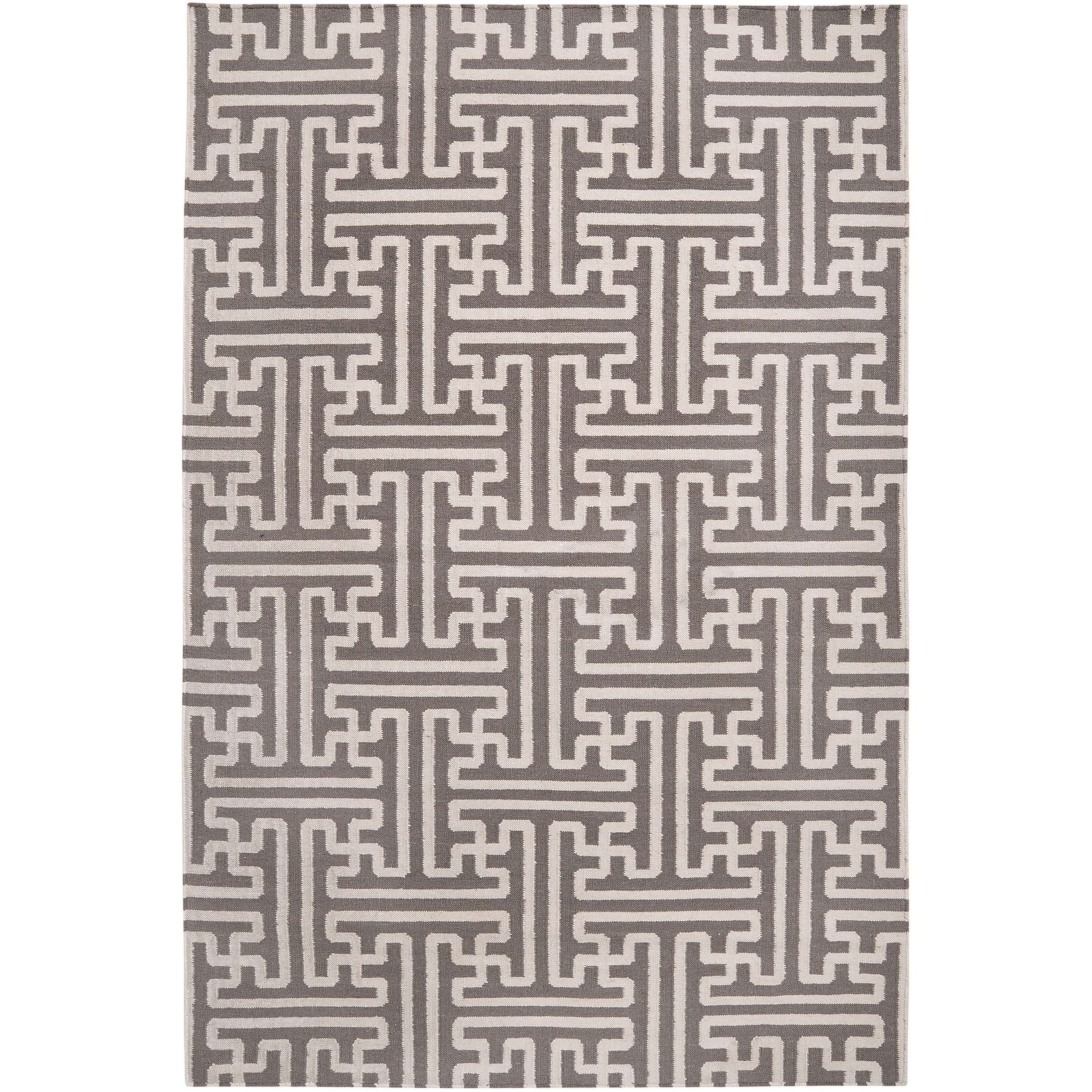 Hand-woven Alfex Wool Area Rug (5' x 8')