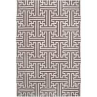 Hand-woven Alfex Wool Area Rug - 8' x 11'