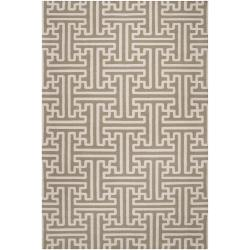 Hand-woven Altanus Wool Rug (8' x 11')