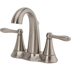 Fontaine Montbeliard Brushed Nickel Centerset Bathroom Faucet