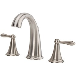 Fontaine Montbeliard Brushed Nickel Widespread Bathroom Faucet