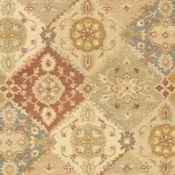 Safavieh Handmade Antiquities Bakhtieri Multi/ Beige Wool Rug (12' x 15') - Thumbnail 2