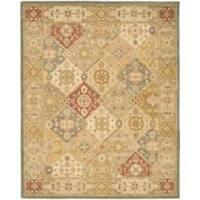 Safavieh Handmade Antiquities Bakhtieri Multi/ Beige Wool Rug - 12' x 15'