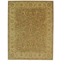 Safavieh Handmade Antiquities Treasure Brown/ Gold Wool Rug - 11' x 17'