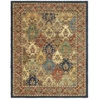 Safavieh Handmade Heritage Timeless Traditional Multicolor/ Burgundy Wool Rug - 11' x 17'