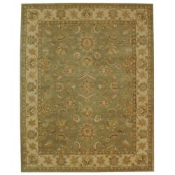 Safavieh Handmade Antiquities Gem Green Wool Rug - 11' x 17'