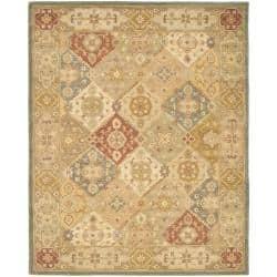 Safavieh Handmade Antiquities Bakhtieri Multi Beige Wool Rug 11 X 17