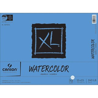 Bound 30-Sheet 11-inch x 15-inch Watercolor Pad